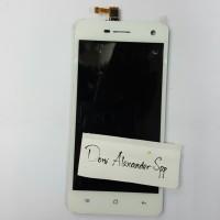 OPPO FIND MIRROR R819 LCD TOUCHSCREEN COMPLETE ORIGINAL PUTIH