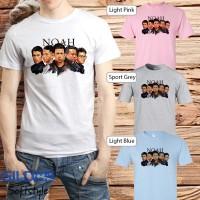 Baju Kaos Band Noah Gildan Distro Grosir Merchandise Hits 05