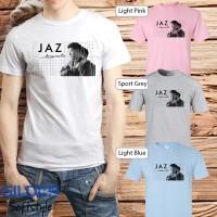 Baju Kaos Band Jaz Gildan Distro Grosir Merchandise Hits 04