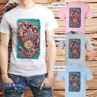 Baju Kaos Band The Beatles Gildan Distro Grosir Merchandise Hits 02