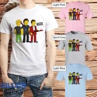 Baju Kaos Band Muse Gildan Distro Grosir Merchandise Hits 09