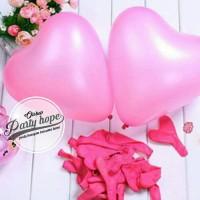 Balon Latex Hati Pink / Balon Latex Love Pink / Balon Latex Heart