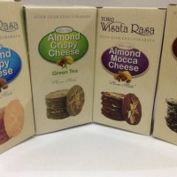 Almond Crispy Cheese Surabaya COD