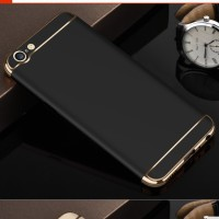 Casing HP 3 in 1 Protection Case Black Oppo A39 / A57