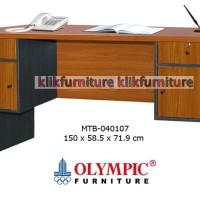 Meja Tulis / Meja Kantor / Meja Kerja 2 Pintu MTB 040107 Olympic