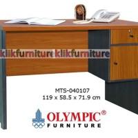MTS 040107 Olympic Meja Tulis Kantor 1/2 Biro