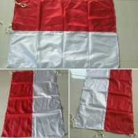 Bendera Merah Putih Kantor Bahan saten Uk: 90 x 135cm
