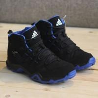 sepatu adidas ax2 hight black blue size.39-44 import made in vietnam