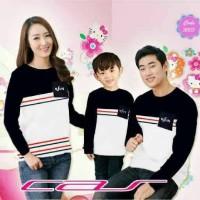 Baju Couple Family NSUN Lengan Panjang 3902   Kaos Pasangan Keluarga