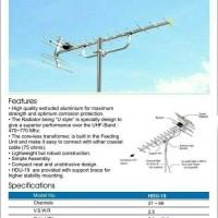 Antena TV Digital / Analog utk TV LCD,LED UHF antena model PF HDU 19