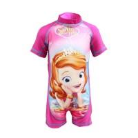 SW1712 - Baju Renang Dive Suit Anak Cewek Perempuan SOFIA THE FIRST