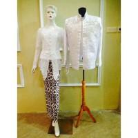 Couple Kebaya Pengantin Akad Pendek Baju Akad Modern