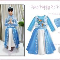 Baju Muslim / Gamis Anak: Kids Happy 35 H - Little Pony (1-5 Tahun)