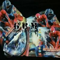 Undangan Spiderman / Kartu Undangan Spiderman / Undangan Ulang Tahun