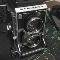 Mamiya c3 TRL kamera kuno antik film