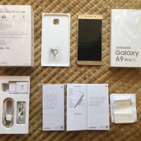 Samsung Galaxy A9 Pro 2016 Gold DUOS 32GB Fullset Garansi Resmi SEIN