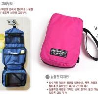 Travel Mate Toilet Organizer Bag (Tas Travelling) korea style (baru)
