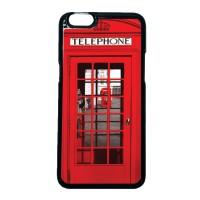 Case Casing OPPO F3 PLUS / R9s PLUS Case Hardcase Motif Red Phone Box
