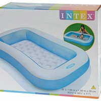Kolam Renang Anak Intex Blue Rectangular Pool 57403