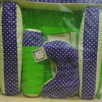 kasur bayi baby scot warna hijau + kelambu