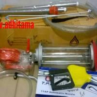 Mesin Pertamini pom mini (mesin engkol full set free nozzle & selang)