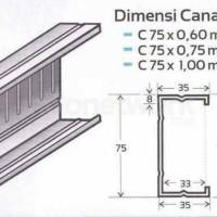 BAJA RINGAN KANAL C / CANAL C / CTRUSS C75 SNI