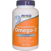 Now Foods, Omega-3, 200 Softgels