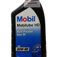 Mobil Mobilube HD Gear Oil SAE 80W-90 - Oli Gardan Transmisi Manual 1L