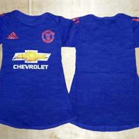 Baju Bola Anak Cewek / Baby dress bola Manchester United MU Away 16/17