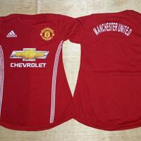 Baju Bola Anak Cewek / Baby dress bola Manchester United MU Home 16/17