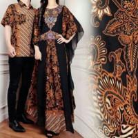 Couple Kaftan Alivia Batik Pesta Baju Pasangan Sarimbit Batik Undangan