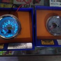 voltmeter tachometer autogauge motor meter