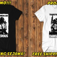 HOT Kaos Transformer 5 Optimus Prime Autobot Dangerous T5 T-Shirt