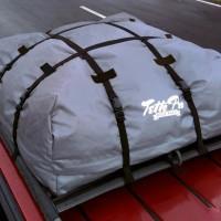 Tas bagasi atas mobil multifungsi roof bag Tetto Pro untuk traveling