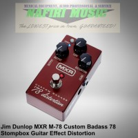 Efek gitar MXR M78 / MXR Custom Badass 78 Distortion baru 100%