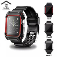 42mm Apple Watch iWatch Tali Jam Rugged Protective Case TPU Soft Band