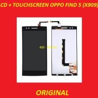 LCD + TOUCHSCREEN OPPO X909 FIND 5 BLACK ORI LAYAR SCREEN 901855