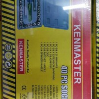 Kenmaster Socket Wrench Set 40 pcs Kunci Sok 40 Sockets