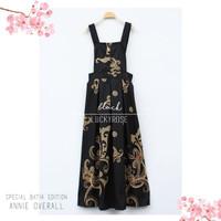 Overall batik/overall rok batik/ jumpsuit rok/baju kodok/maxi dress