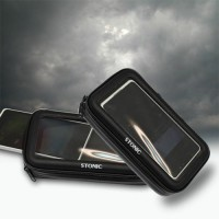 Stand Phone Holder HP Smartphone Motor Anti Air Hujan Waterproof Gojek