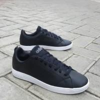Sepatu Adidas Neo Advantage Clean Black White Original