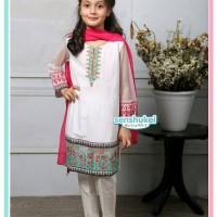 IMPORT Senshukei 17G Baju Anak Kecil Merah Putih Sari India Hijab