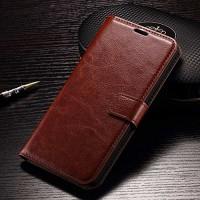 Sony Xperia Z5 plus premium case casing hp leather FLIP COVER WALLET - Black