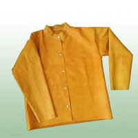 Jaket Las Coklat Full Kulit Apron Leather Welding ALL SIZE