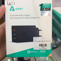 Aukey Charger 3 Usb ports Quick Charge 3.0 Wall PA-T14