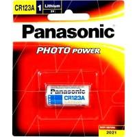 Baterai Panasonic CR123A - 3V