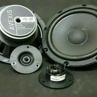 speaker 2way avexis fu 6s tweeter vifa xt 19nc with xo