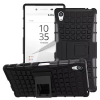 Sony xperia Z5 Z5+ plus premium dual case casing cover hp RUGGED ARMOR - Z5 5.2, Hitam
