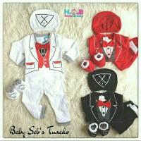 Baby Tuxedo Set/ Baju Bayi / Tuxedo Bayi / Stelan Bayi / Jumper Bayi
