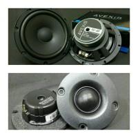 speaker 2way avexis fu 6s tweeter sb acoustics sb26 with xo